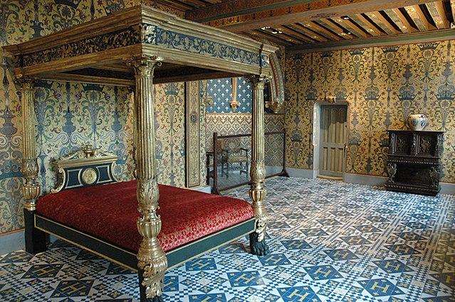 Chambre du roi, château de blois
