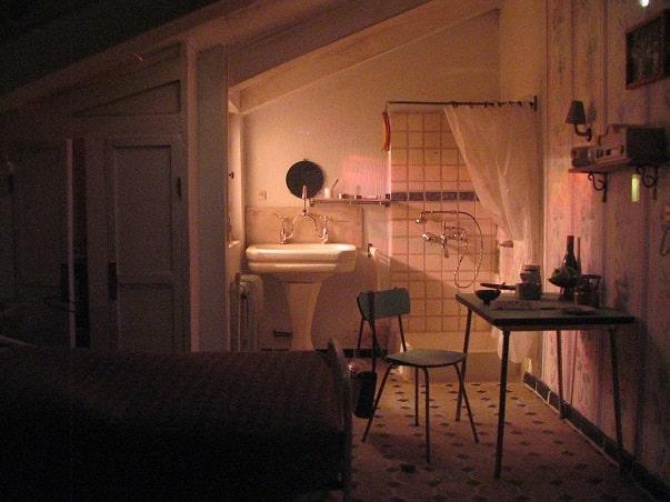 chambre de bonne parisienne